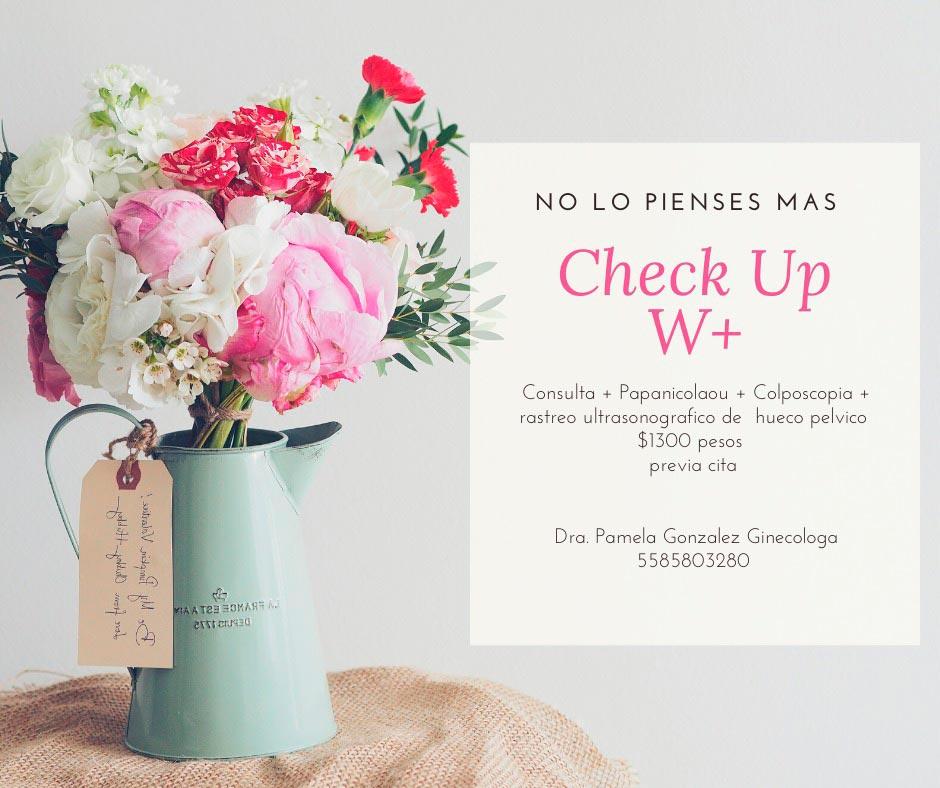 Promoción Check Up - Ginecólogo en Naucalpan